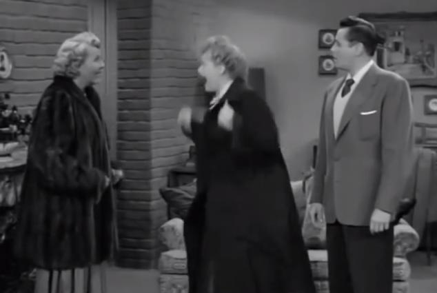 Lucy forgot to take her grown ass woman pills.