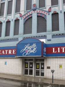 The Lucille Ball Little Theatre in her hometown of Jamestown, New York.