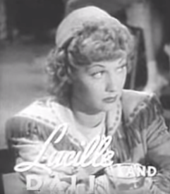 Lucille Ball in Too Many Girls