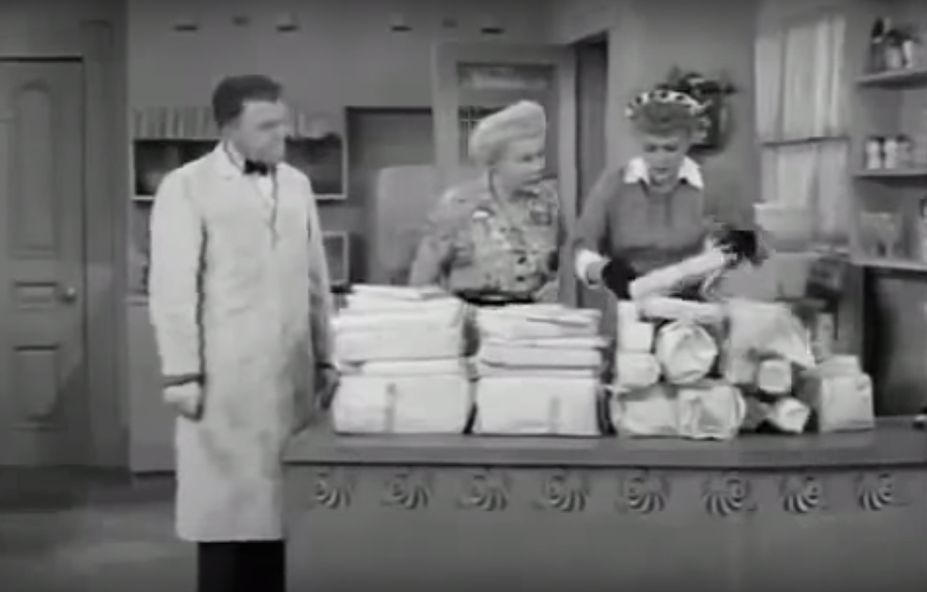 Cheap Tire Places >> I Love Lucy S01 E29 – The Freezer | WTF Lucy