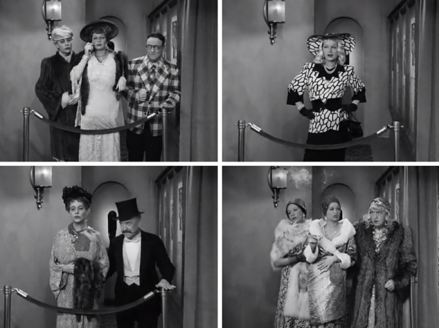 S01 E35 Lucy, Ethel, and Fred in costume