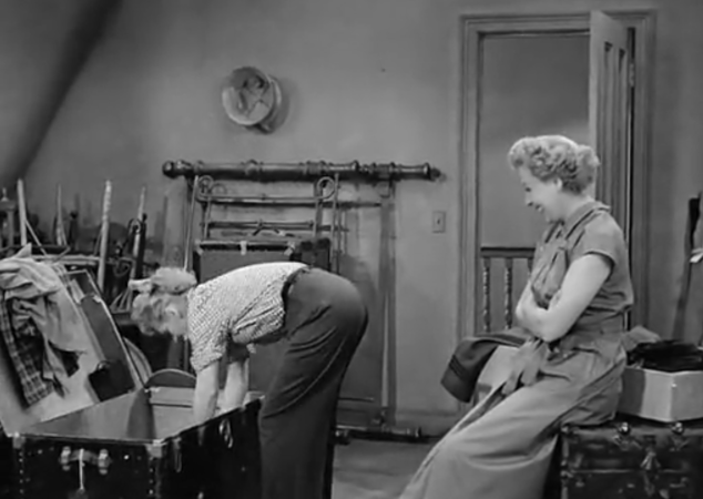 I Love Lucy S02 E02 Ethel and Lucy in Attic