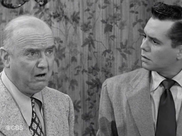 I Love Lucy S02 E07 Fred upset with Ricky