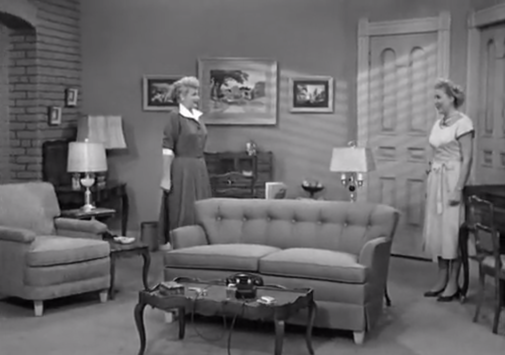 I Love Lucy S02 E09 Lucy And Ethel With New Furniture. U201c Part 39
