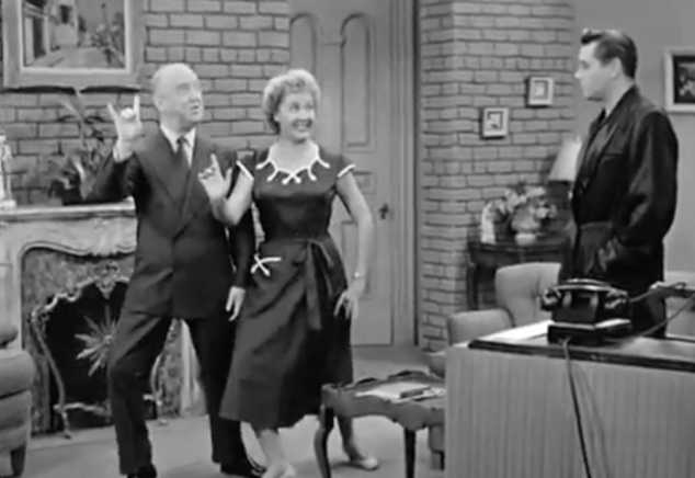 I Love Lucy S02 E12 Fred and Ethel Dance