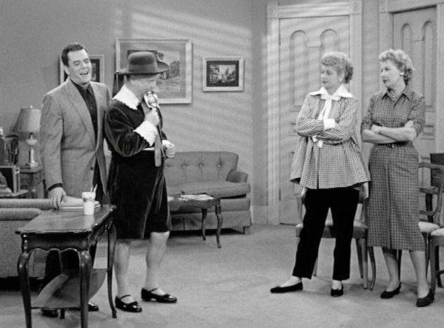I Love Lucy S02 E13 Fred as Schoolboy