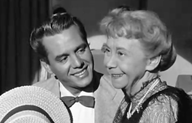 I Love Lucy S2 E19 Ricky with Ms. Knickerbocker