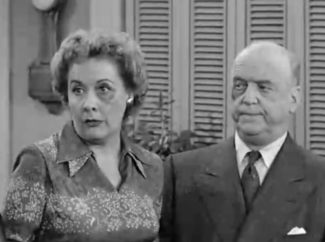 I Love Lucy S2 E20 Ethel Black Eye