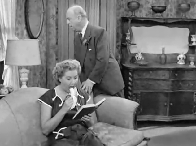 I Love Lucy S2 E20 Ethel with banana
